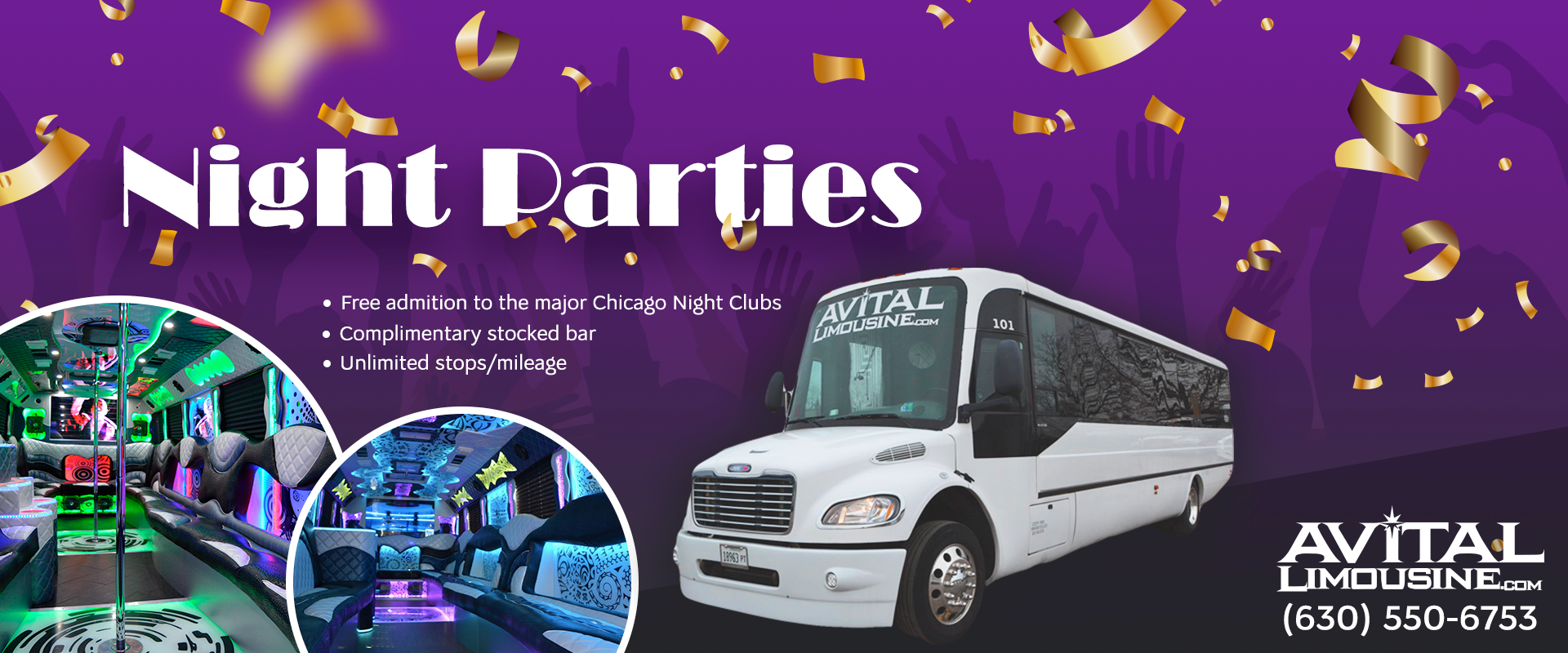 Party Bus Night Out Chicago