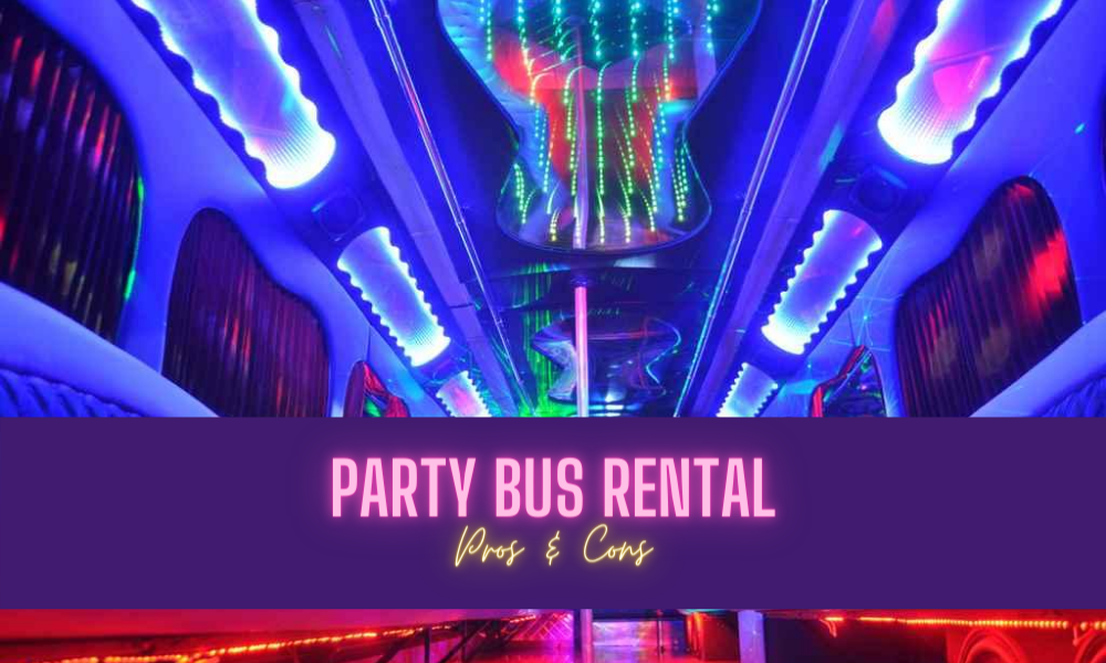 occatios for party bus